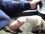 Exhibitionist driving car while masterbating