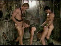 Hot Threesome Guys