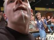 Hard dick in b-y's throat